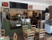 Don't Miss this superb Café / sandwich bar in York with outstanding views to Cliffords Tower.